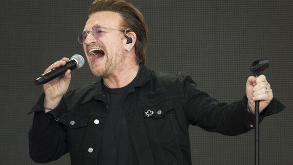 Lider irlandskoй rok-gruppы U2 Bono - Sputnik Srbija