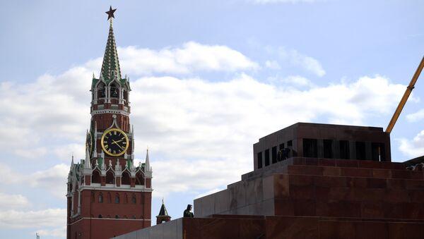 Маузолеј В.И. Лењина на Црвеном тргу у Москви - Sputnik Србија