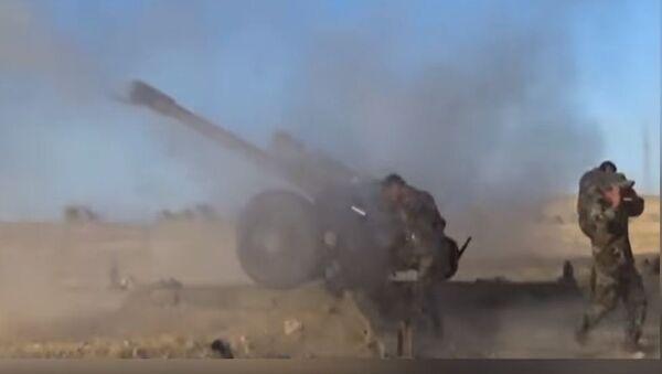 Сиријска армија опкољава терористе у региону Сухне - Sputnik Србија