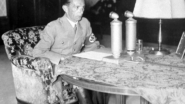 Министар пропаганде Трећег рајха Јозеф Гебелс. - Sputnik Србија