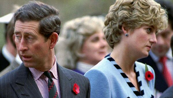 Princ Čarls i princeza Dajana. - Sputnik Srbija