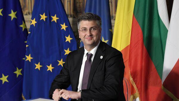Andrej Plenković - Sputnik Srbija