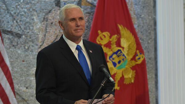 Потпредседник САД Мајк Пенс у Црној Гори - Sputnik Србија