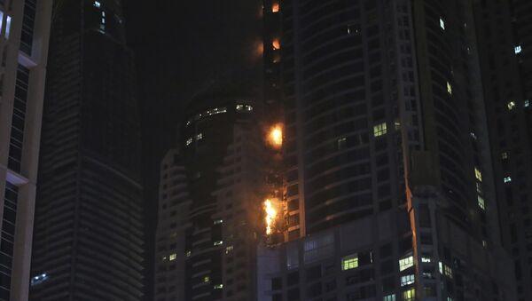 Пожар, Дубаи - Sputnik Србија