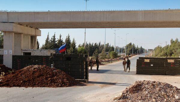 Trasa Homs-Hama u zoni deeskalacije Homs otvorena za civilni saobraćaj - Sputnik Srbija