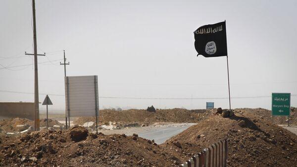 Застава терористичке групе ДАЕШ у Ираку - Sputnik Србија