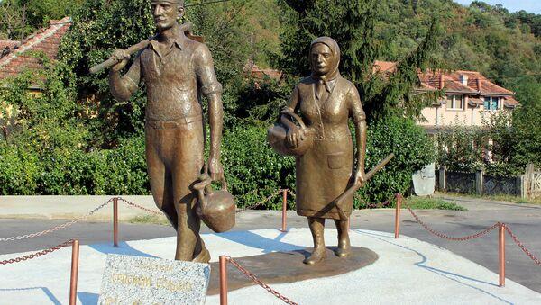 Spomenik seljaku, Jagodina - Sputnik Srbija