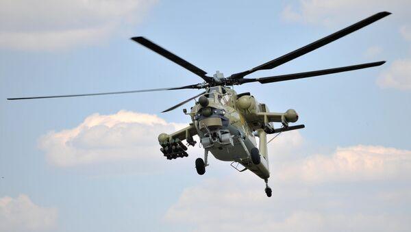 Хеликоптер Ми-28УБ - Sputnik Србија