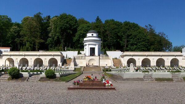 Kapela na Ličakovskom groblju u Lavovu, Ukrajina - Sputnik Srbija