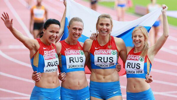 Ruske atletičarke - Sputnik Srbija