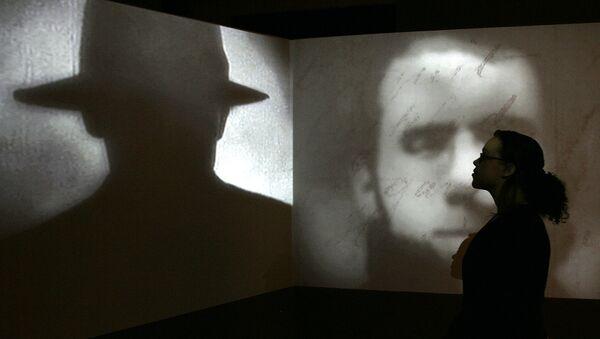Изложба Џек Трбосек у Ист Енду у музјеу Докленд у Лондону. - Sputnik Србија