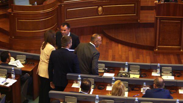 Ramuš Haradinaj u tzv. parlamentu Kosova - Sputnik Srbija