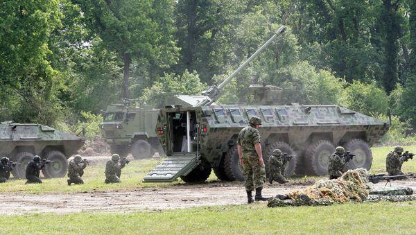 Прва заједничка војна вежба у Никинцима Србије са чланицама НАТО-а - Sputnik Србија