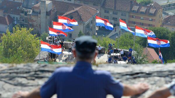 Обележавање годишњице акције Олуја у Хрватској. - Sputnik Србија