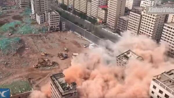 Рушење солитера, Кина - Sputnik Србија
