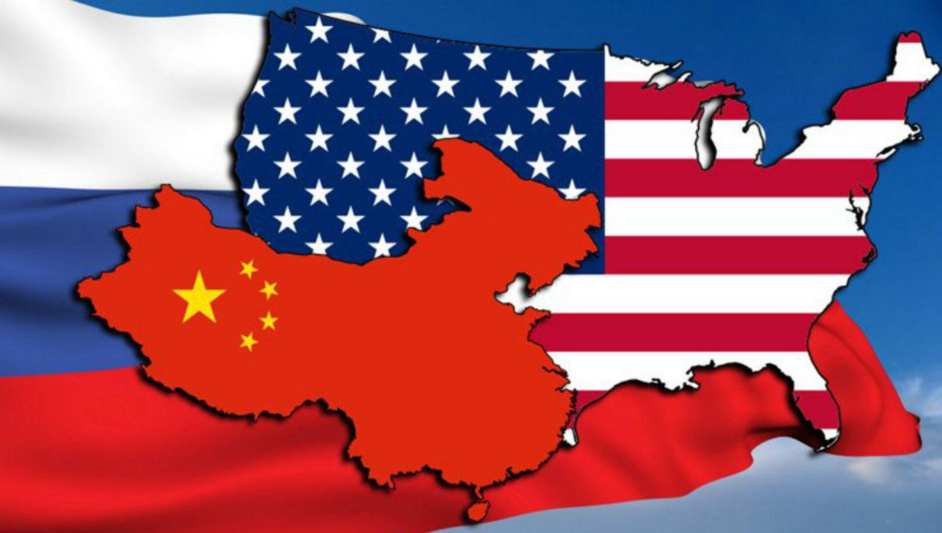 Заставе САД Кине и Русије - Sputnik Србија, 1920, 21.02.2021