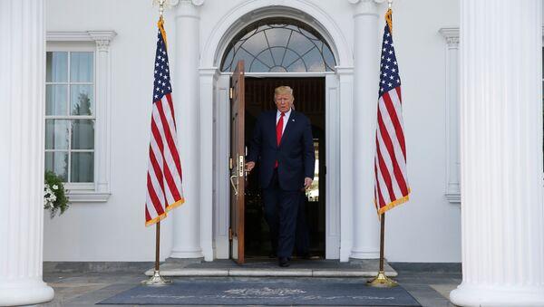 Predsednik SAD Donald Tramp u Nju Džerziju - Sputnik Srbija