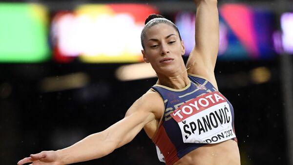 Ivana Španović u Londonu - Sputnik Srbija