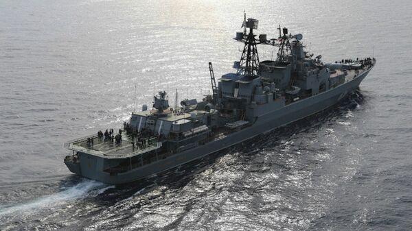 Veliki protivpodmornički brod Videadmiral Kulakov - Sputnik Srbija