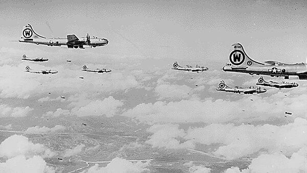 Амерички бомбардери Б-29 над Корејским полуострвом - Sputnik Србија