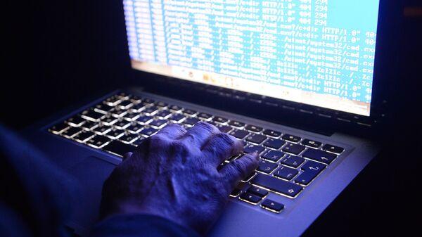 Haker za kompjuterom - Sputnik Srbija