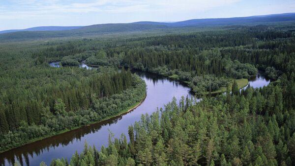 Река Лена у Сибиру - Sputnik Србија