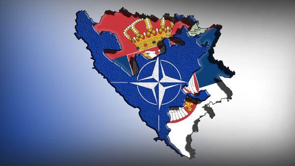 Босна и Република Српска  - илустарција - Sputnik Србија