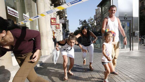 Teroristički napad u Barseloni - Sputnik Srbija