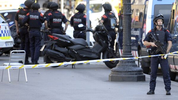 Španska policija - Sputnik Srbija
