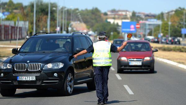 Saobraćajna policija - Sputnik Srbija