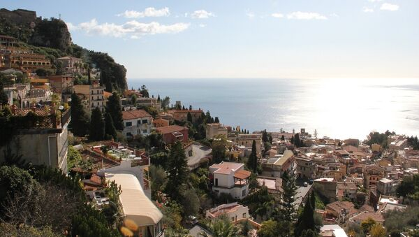 Taormina (ital. Taormina) je grad na ostrvu Siciliji u Italiji - Sputnik Srbija