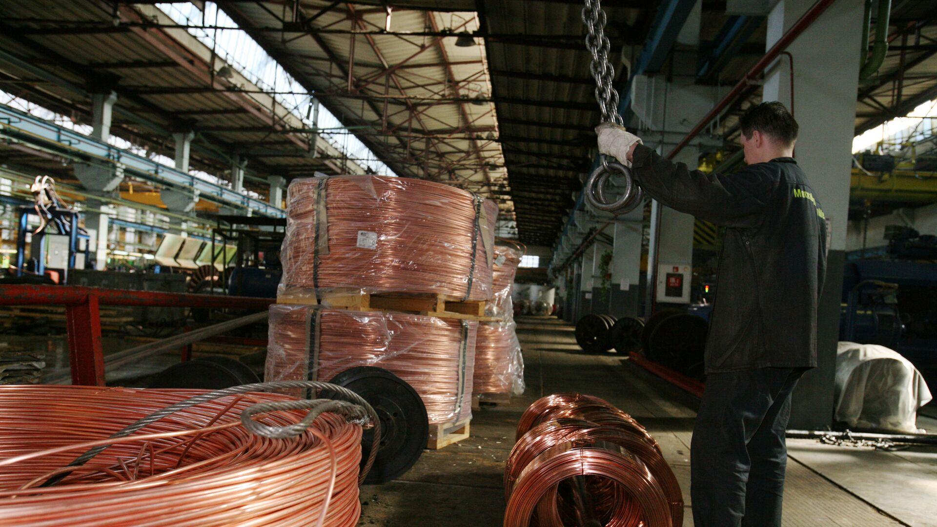 Фабрика за производњу бакарне жице - Sputnik Србија, 1920, 24.09.2021