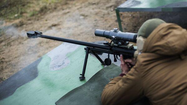 Ruska vojna snajperska puška velikog kalibra (ASVK) - Sputnik Srbija