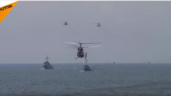 Vežbe ruskih marinaca u Kalinjingradu. - Sputnik Srbija