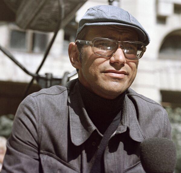Režiser Andrej Mihalkov Končalovski 1974. godine. - Sputnik Srbija