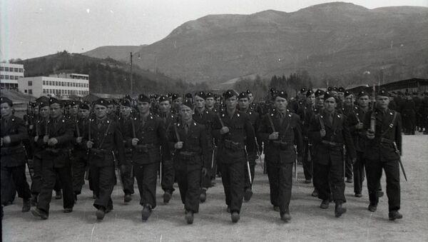 Усташка црна легија Кошеву, у Сарајеву. - Sputnik Србија