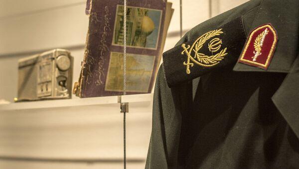 Eksponati muzeja Svete odbrane Teherana za vreme iransko-iračkog rata - Sputnik Srbija