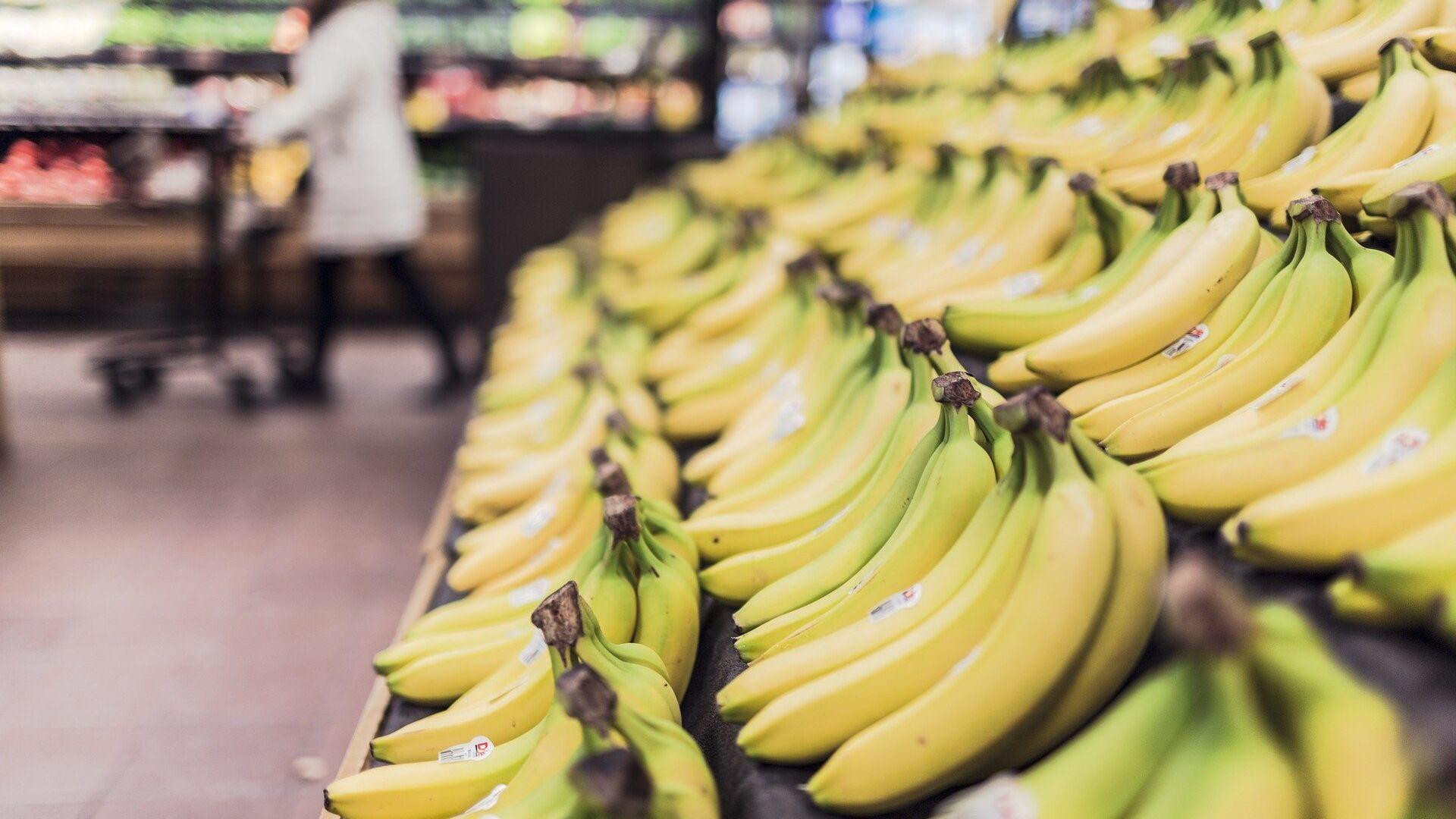 Банане у супермаркету - Sputnik Србија, 1920, 08.10.2021