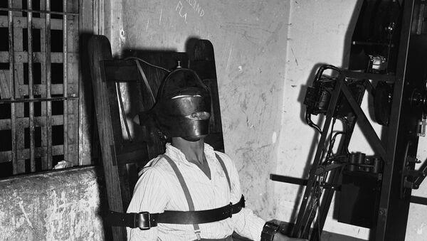 Električna stolica za izvršenje smrtne kazne. - Sputnik Srbija