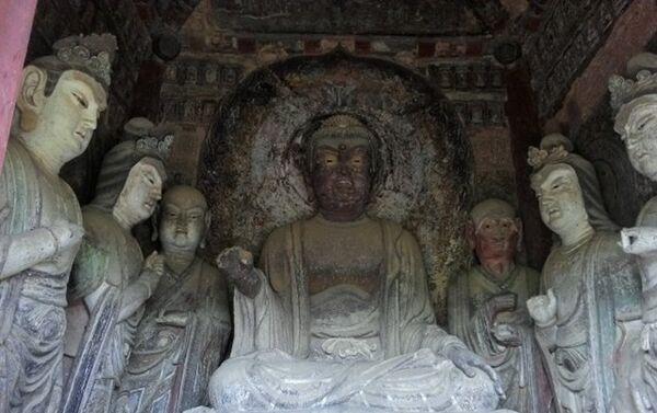 Pećinski hramovi Maiđišan, Tjanšui, provincija Gansu - Sputnik Srbija