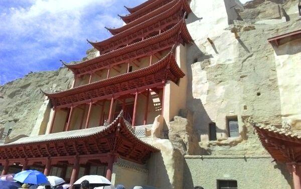 Pećinski hramovi Mogao, Dunhuang, provincija Gansu - Sputnik Srbija