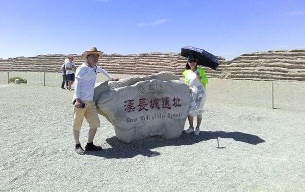 Ostaci Velikog kineskog zida iz dinastije Han kod Dunhuanga, provincija Gansu - Sputnik Srbija