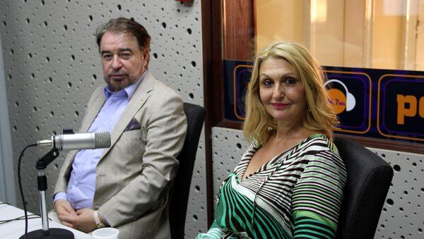Драган Симеуновић и Виолета Таловић - Sputnik Србија
