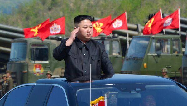 Ким Џонг Ун, лидер Северне Кореје - Sputnik Србија