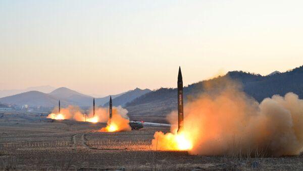 Лансирање балиситичких ракета у Северној Кореји - Sputnik Србија