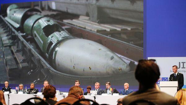 Predstavljanje izveštaja o istrazi pada aviona Boing 777 na letu MH17 - Sputnik Srbija