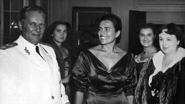 Јосип Броз Тито и Јованка Броз - Sputnik Србија