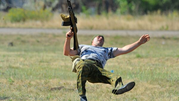 Vojne vežbe Operativne grupe ruske vojske u Pridnjestrovlju - Sputnik Srbija