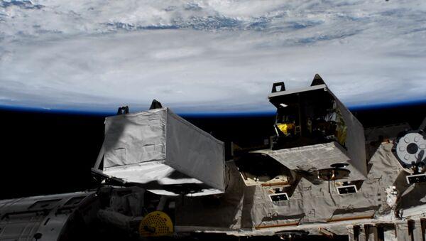 Pogled na uragan Harvi sa Međunarodne svemirske stanice - Sputnik Srbija