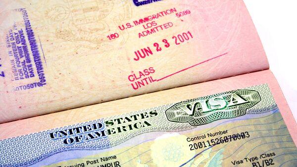 Američka viza - Sputnik Srbija